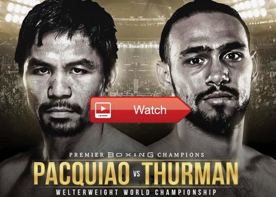 Pacquiao vs Thurman boxing streams reddit