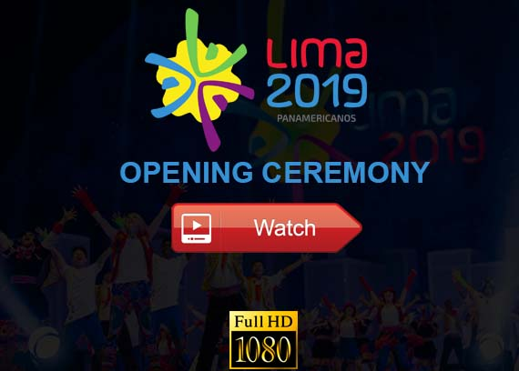 Pan American Games Opening Ceremony live stream reddit