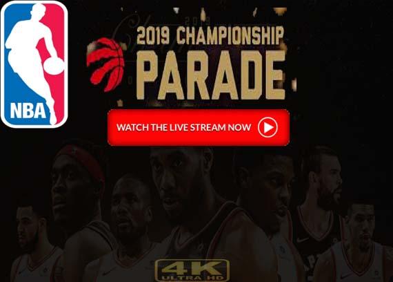 Watch Toronto Raptors Championship Parade Live Stream Online