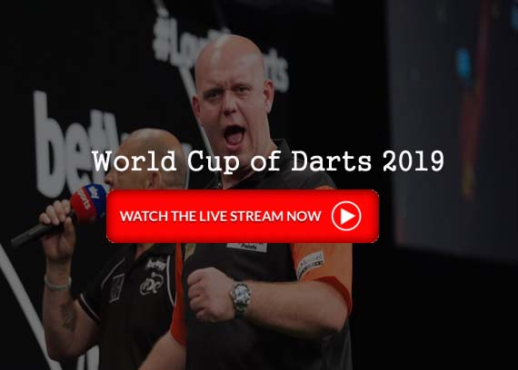 PDC World Cup of Darts Live Stream Official Tv Guide