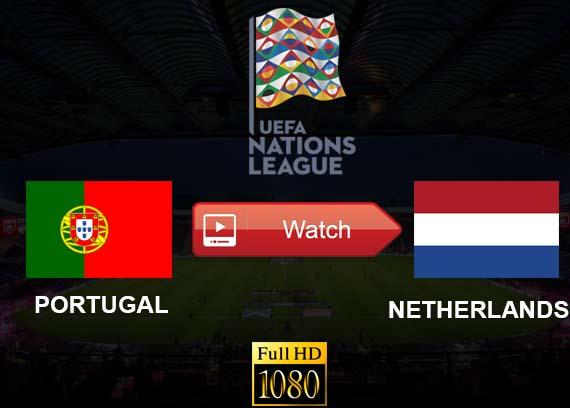 Portugal vs Netherlands live stream Reddit