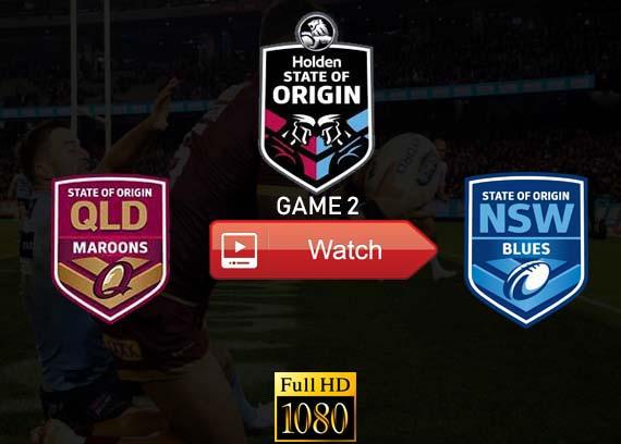 QLD vs NSW Game 2 state of origin live