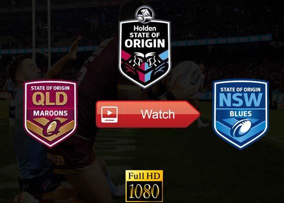 State of Origin live QLD vs NSW