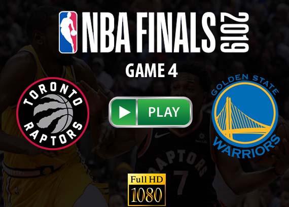Raptors vs Warriors NBA Game 4 live stream reddit