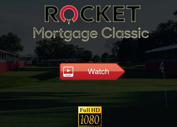 Rocket Mortgage Classic live stream