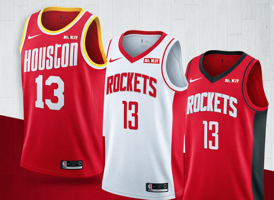 Look: Rockets show off new uniforms for next season