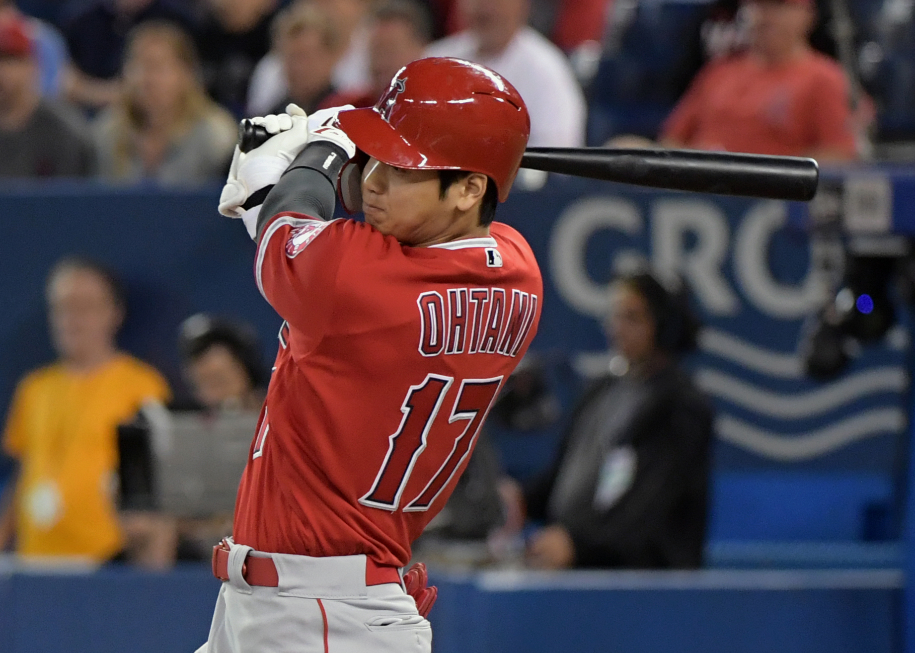 Shohei Ohtani making impact for Angels as DH while recovering from Tommy John surgery