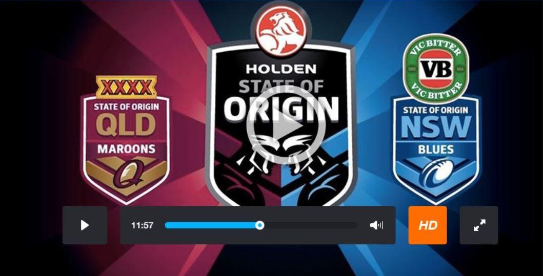 State of origin live stream online