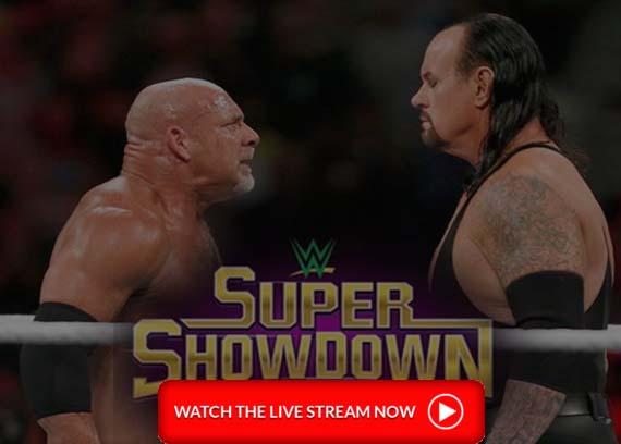 Undertaker vs Goldberg Live Stream Super ShowDown