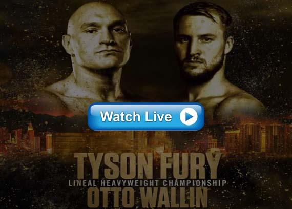 Fury vs Wallin live stream reddit