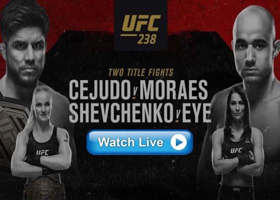 UFC 238 live Reddit