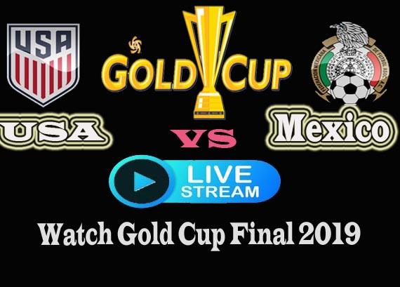Mexico vs USA live Stream Gold Cup Final