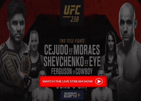 UFC 238 On ESPN+