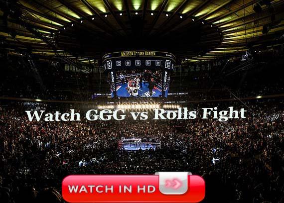 dazn fight Golovkin vs Rolls