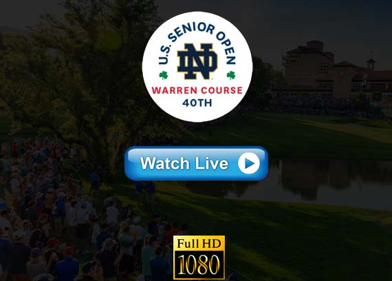 US Senior Open 2019 golf live streaming