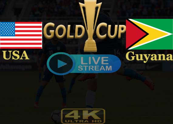 USA vs Guyana Live Stream