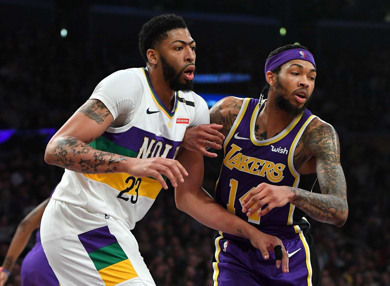 Report: Celtics, Lakers making offers for Anthony Davis