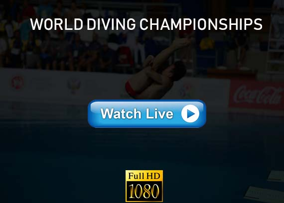 World Diving Championships live streaming