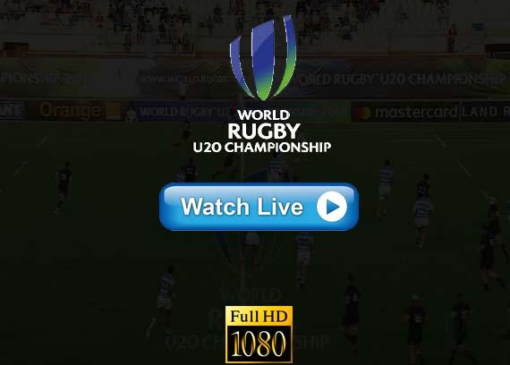 World Rugby u20 Championship live online chanels