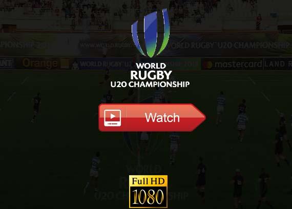 World Rugby Under 20 Championship live stream