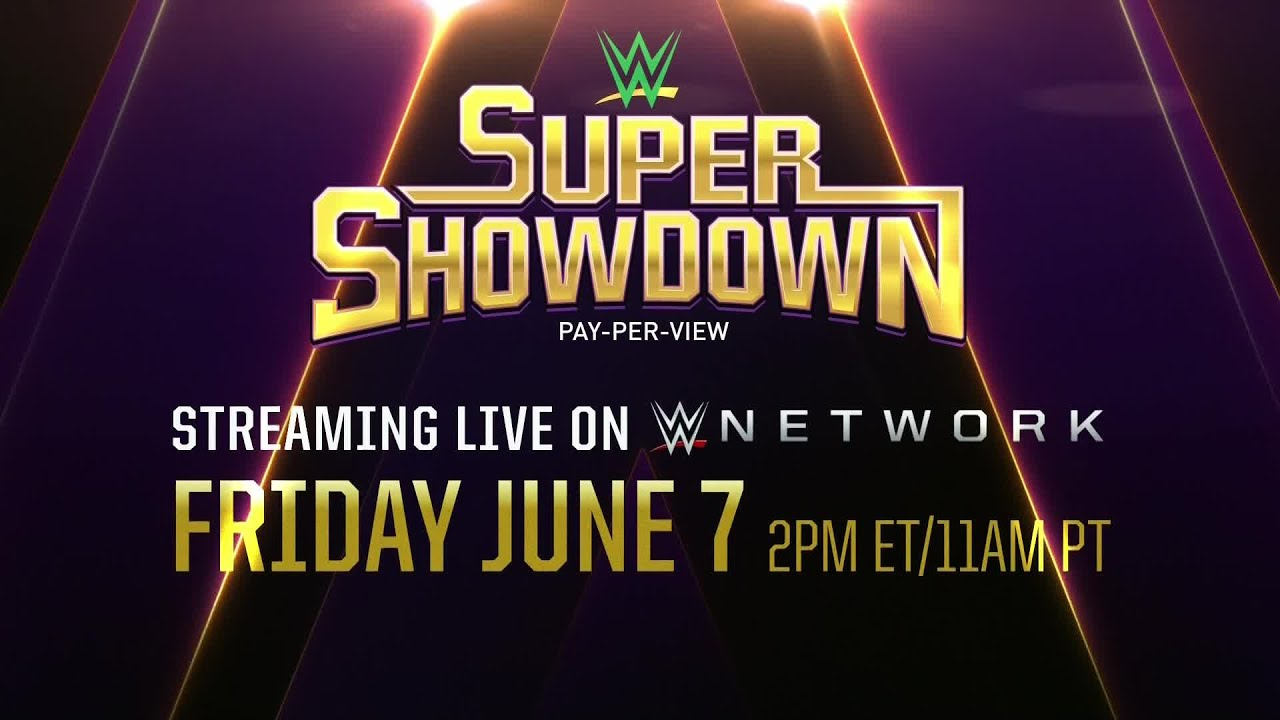 WWE Super Showdown stream on WWE network