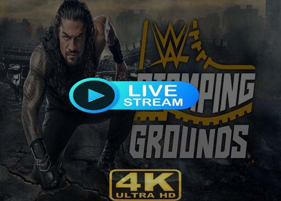 Stomping Grounds 2019 live stream