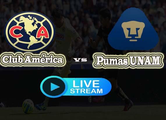Club America vs Pumas UNAM live Reddit stream