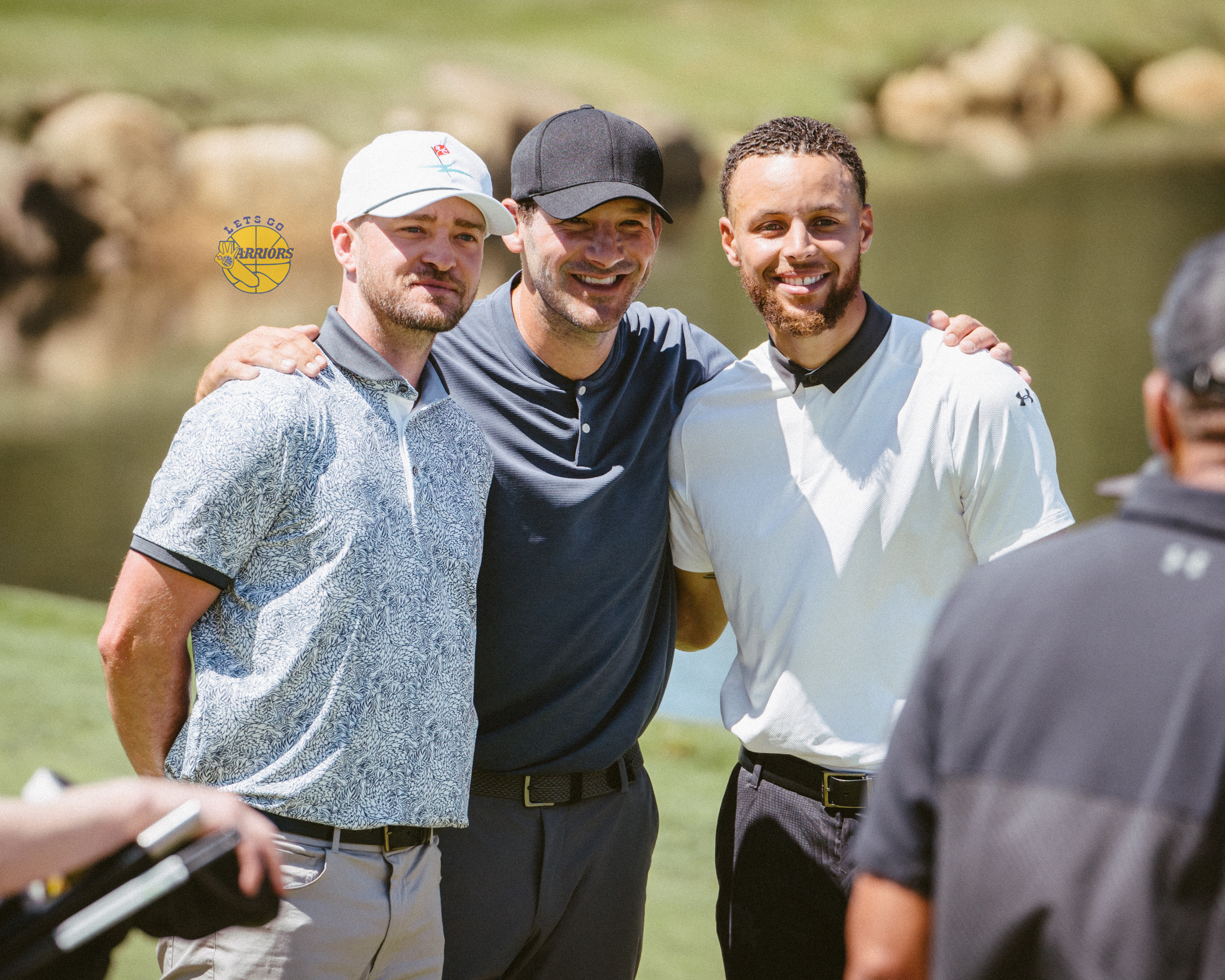 [PHOTO GALLERY] Steph Curry, Justin Timberlake, Tony Romo at Edgewood Tahoe American Century Championship - Round 1 Back 9