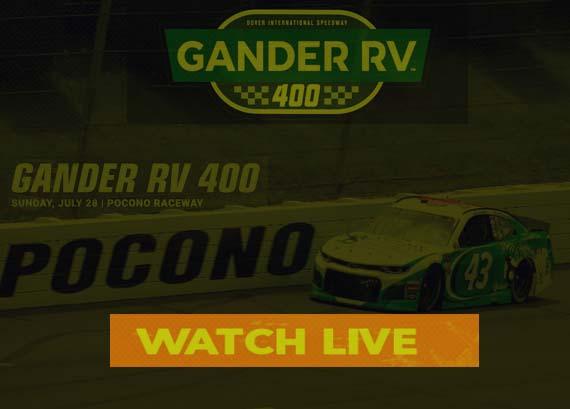 2019 Gander RV 400 Live Stream