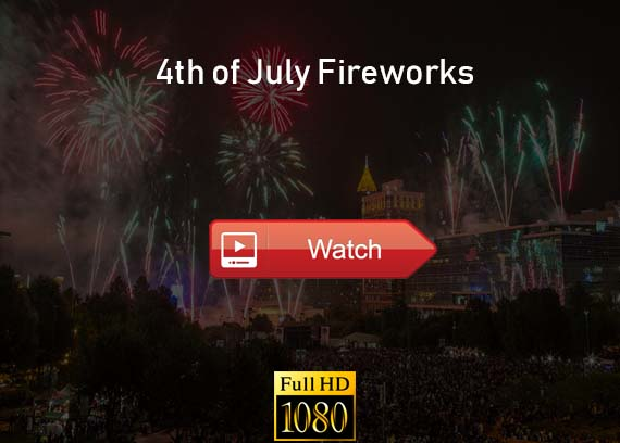 4th of July Fireworks live stream