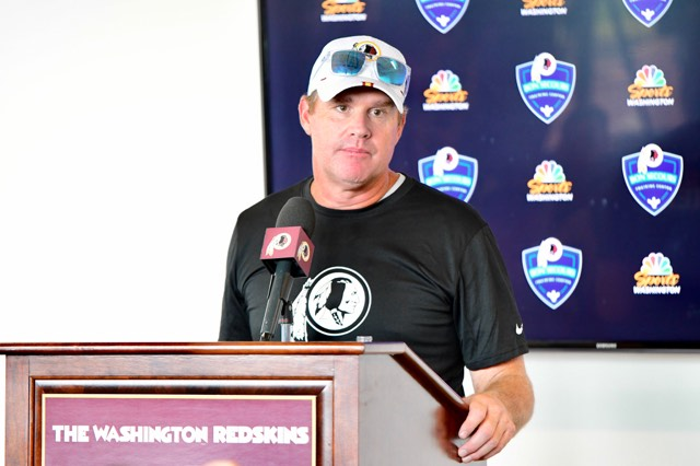 Gone Camping: Jay Gruden Meets the Press