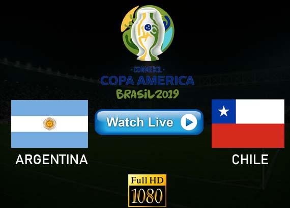 Argentina vs Chile Copa America live streaming Reddit