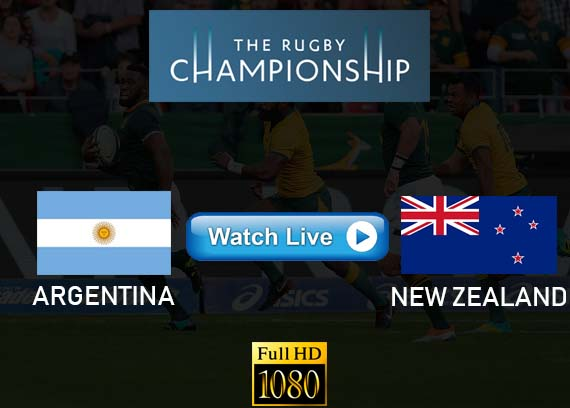 Argentina vs New Zealand The Rugby Championship live streaming reddit
