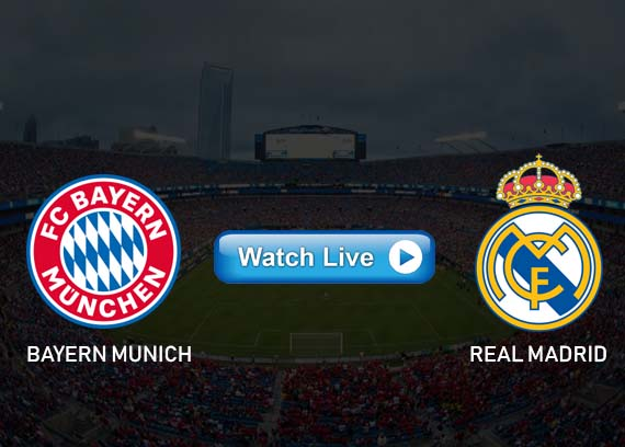 Bayern Munich vs Real Madrid live streaming reddit