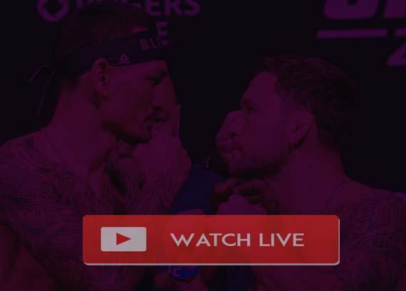 Max Holloway vs Frankie Edgar Live Stream
