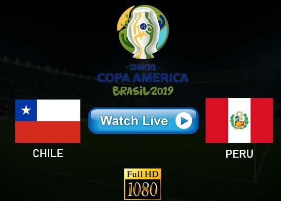 Chile vs Peru Copa America live streaming reddit
