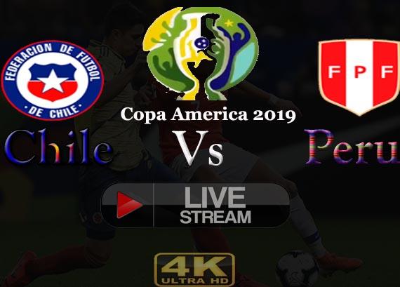 Chile vs Peru Live Reddit stream