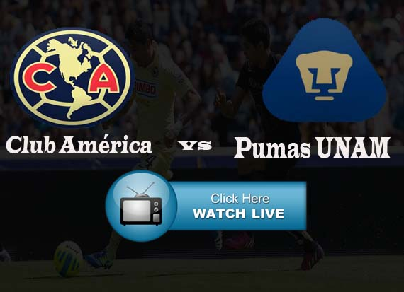 Club America vs Pumas UNAM live stream