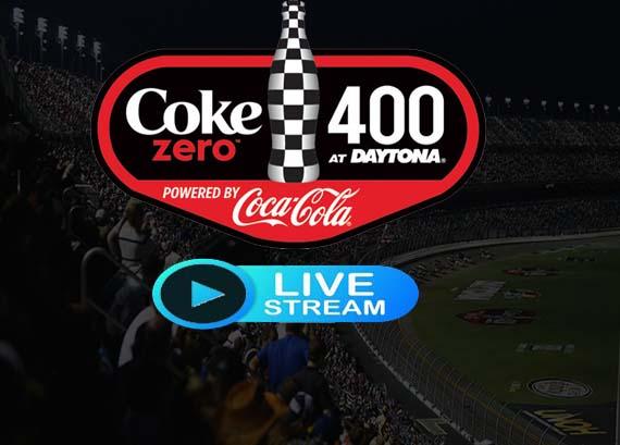 NASCAR Coke Zero Sugar 400 Live
