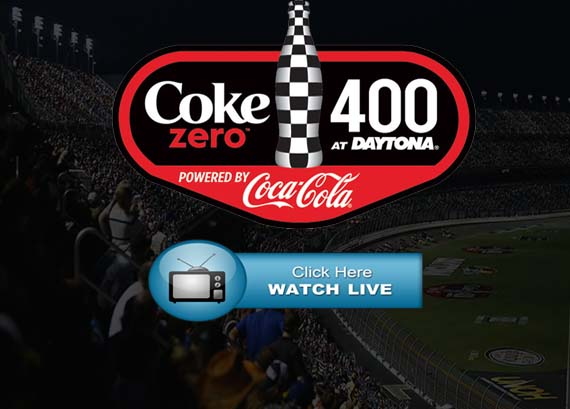Coke Zero Sugar 400 Live Stream