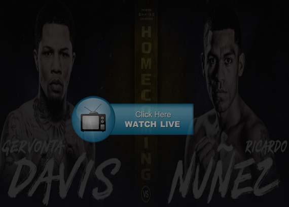 Davis vs Nunez Live Stream