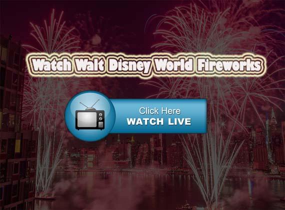 Magic Kingdom Fire Works july of 4th live