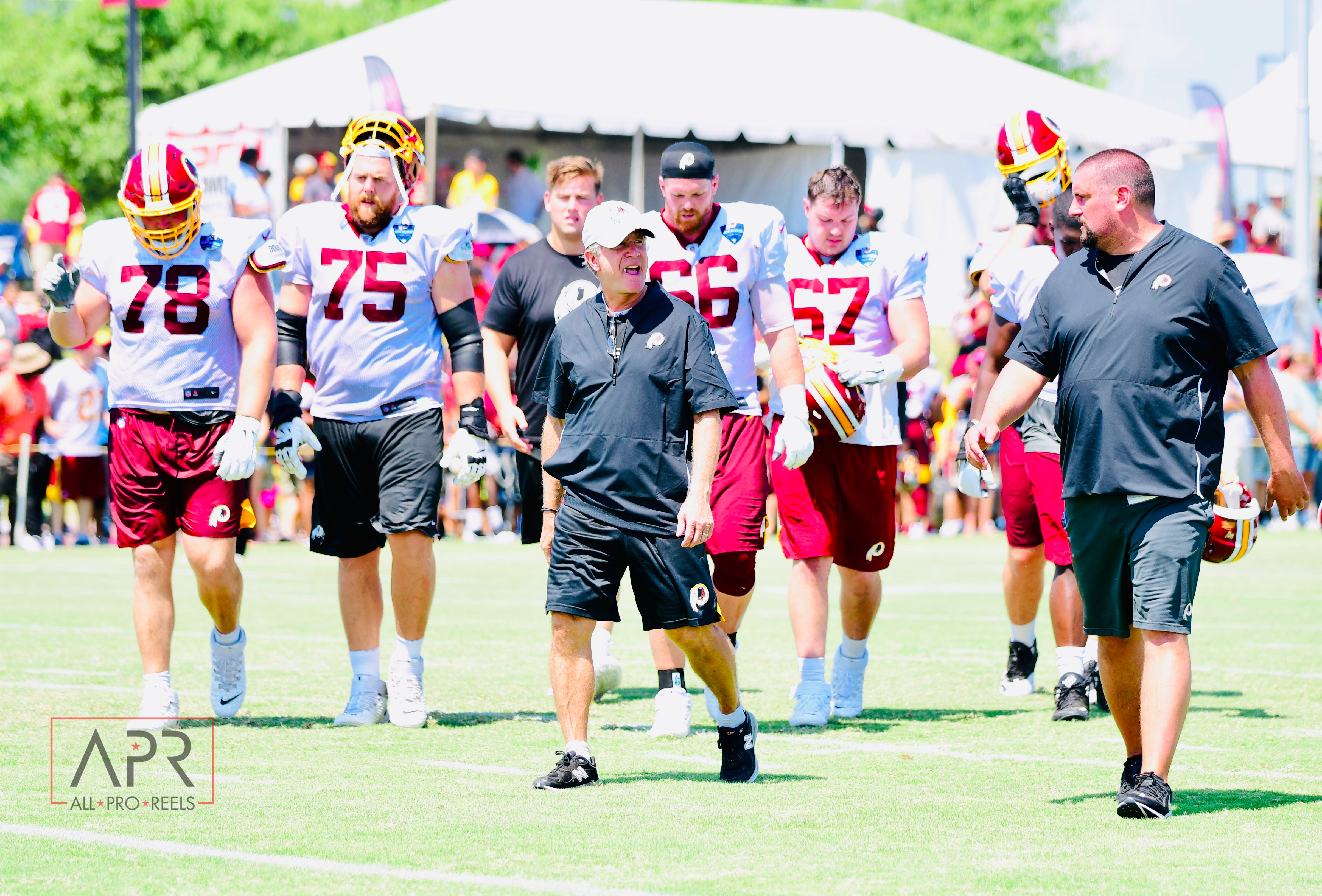 Redskins Training Camp: Day 3 📸