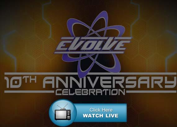 EVOLVE 10th Anniversary Live Stream Reddit
