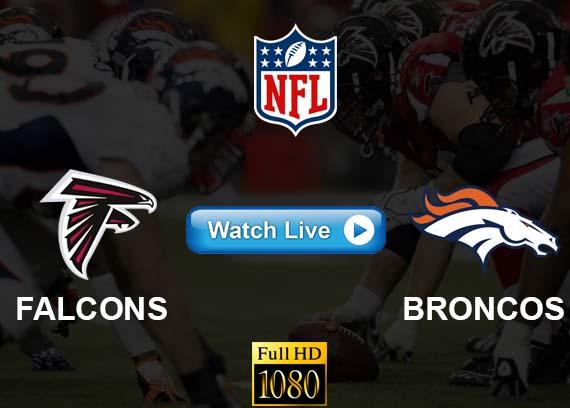 Falcons vs Broncos live streaming reddit