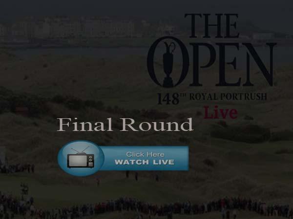 British Open 2019 Reddit Final Round Live stream