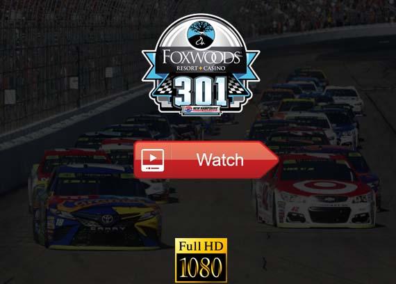 Foxwoods Resort Casino 301 live stream reddit