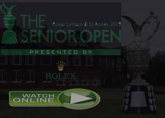 Senior Open Championship 2019 Live Stream