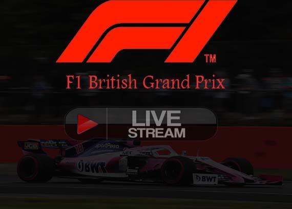F1 British Grand Prix 2019 Live stream