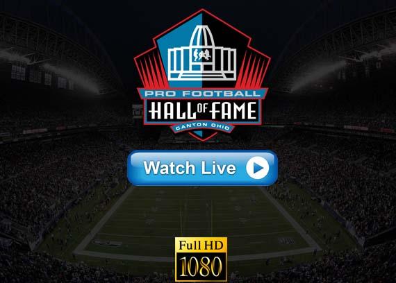 Hall of Fame Game live streaming reddit